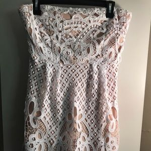 NWT Lace overlay dress